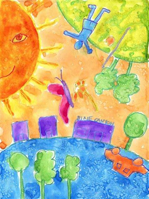 chagall painting art projects  kids