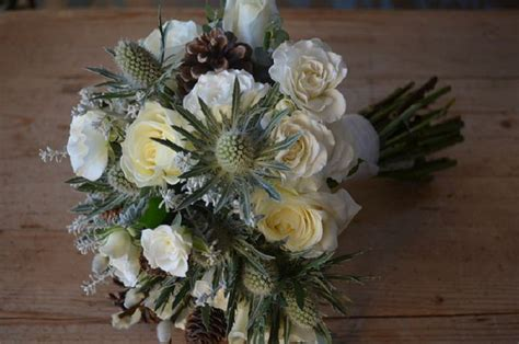 winter wonderland weddings  campbells flowers