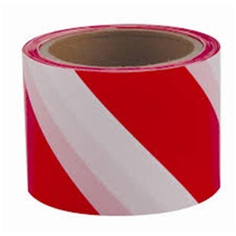 warning tape mmxm redwhite adhesive industrial