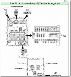 9 Best Images Of 2002 Altima Fuse Box Diagram