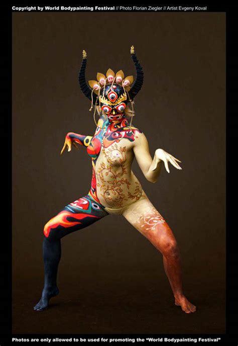 beautiful body painting artwork great inspire
