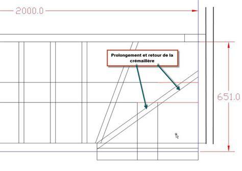 plan construire un escalier construire un escalier quart tournant haut avec un logiciel gratuit atelier bois