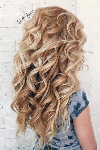 Curling Hairstyles For Medium Hair by 14 Beautiful Hairstyles For Hair Hoco Prom Curly