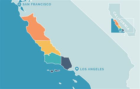 Regions Of Californias Central Coast Central Coast