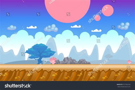 background concept   mobile  video game seamless