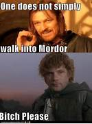 Lord Of The Rings Meme One Does Not Simply