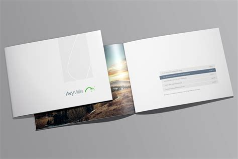 A Collection Of Free Psd Brochure Mockups Free Landscape Brochure Mock Up Collection Of Free