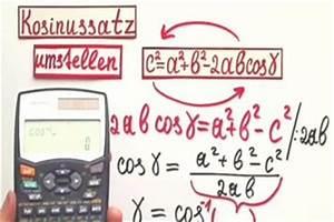Parallelogramm Diagonale Berechnen : video kosinussatz umstellen so wird der winkel berechnet ~ Themetempest.com Abrechnung