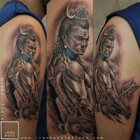 lord shiva mahadev tattoos   iron buzz tattoos iron buzz tattoos mumbais