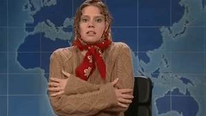 Freezing Kate Mckinnon GIF by Saturday Night Live - Find ...