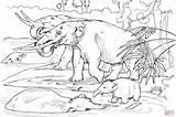 Coloring Pages Mastodons Printable Skip Main Drawing sketch template