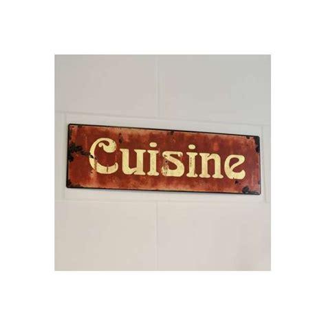 plaques cuisine plaque décoration cuisine rétro esprit vintage