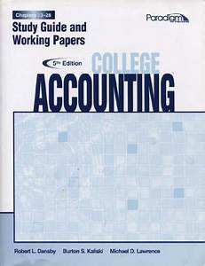 Accounting Chapter 10 Study Guide Answers