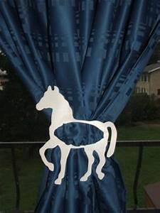 Embrasse Rideau Originale : article embrasse rideau cheval pour chambre d 39 enfants ~ Teatrodelosmanantiales.com Idées de Décoration