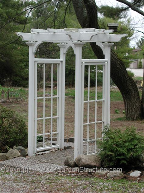free garden arbor plans autumn weddings pics