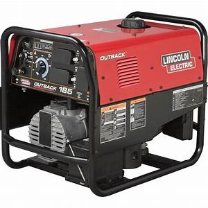 Lincoln Electric Outback 185 Arc Welder  Generator With