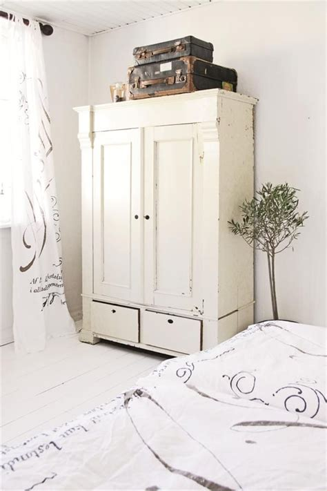 black shabby chic wardrobe bedroom armoire olive tree white grey black chippy shabby chic whitewashed cottage