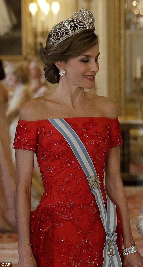 Spanish Royals Make Their Way Buckingham Palace Daily
