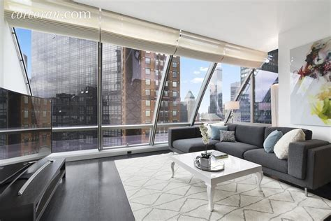 One57 apartment underneath the skyscraper?s arched glass