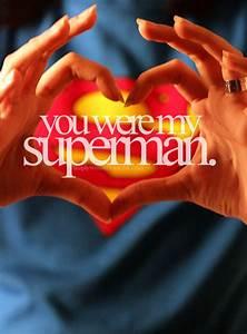 I love Superman. I'm a big fan of anyone by David Mamet ...
