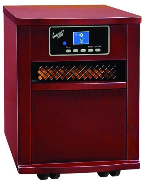 comfort zone heater comfort zone infrared quartz heater reviews