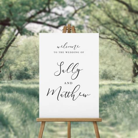 elegant wedding  signs australia