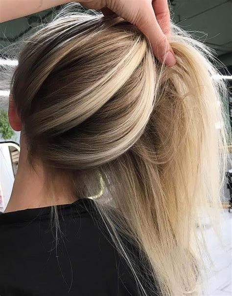 55 Charming Balayage Blonde Hair Color Ideas for 2018 | Hollysoly