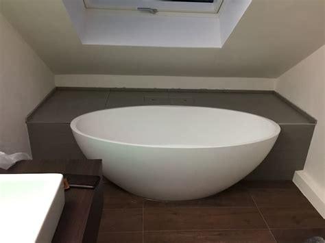 Freistehende Badewanne Nachträglich Einbauen by Einbau Dokumentation Eines Badeloft Kunden Anhand Der