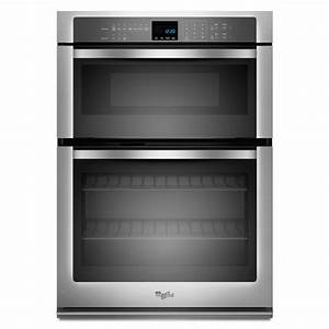 Shop whirlpool self cleaning with steam microwave wall for Wall oven microwave combo