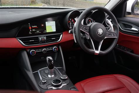 Alfa Romeo Interior by 2018 Alfa Romeo Giulia Review Car Boys