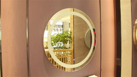 Modern Oval Bathroom Mirrors by Modern Oval Led Bathroom Mirrors Touch Screen Light Up