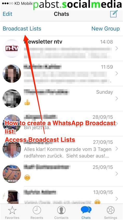 How To Create A Whatsapp Broadcast List Pabstsocialmedia