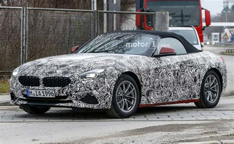 2019 Bmw Z4 Spied; To Launch This Year  Ndtv Carandbike