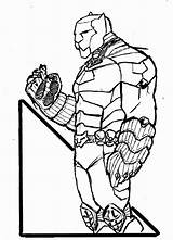 Coloring Panther Pages Printable Marvel Drawing Falcon Panthers Superhero Template Getcolorings Popular Quality Getdrawings Sketch Deviantart Results sketch template