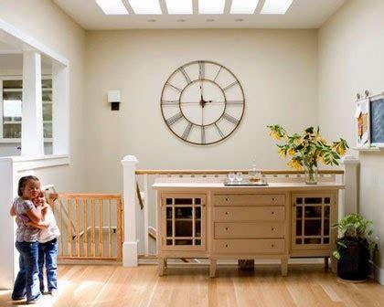 jam dinding akrilik hias vintage mendekorasi dinding dengan jam