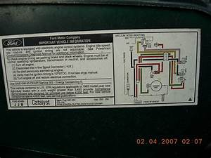 Ford 302 No Egr Vacuum Diagram