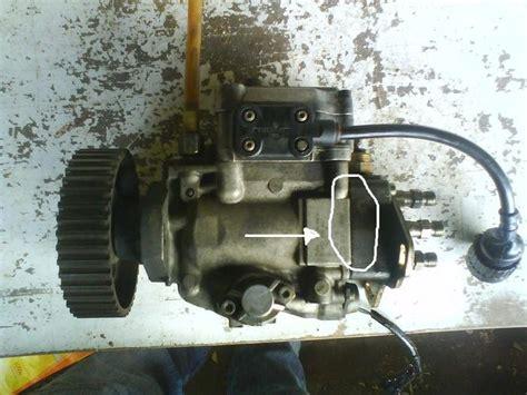 fuite sur pompe injection   les moteurs diesel