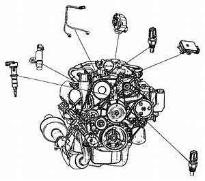 Chrysler Pacifica Sensor  Crankshaft  Crankshaft Position  Egm