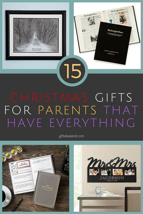 christmas gifts for parents who have everything great