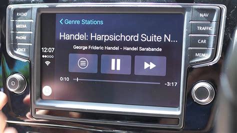 Golf R Upgrade by Vw Golf R Upgrade To Discover Pro With Carplay