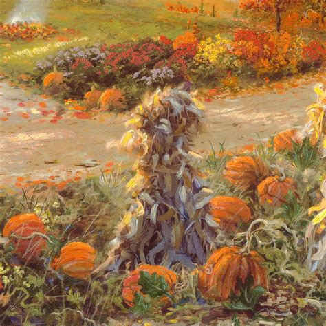 Autumn at Apple Hill - Limited Edition Canvas | Thomas ...