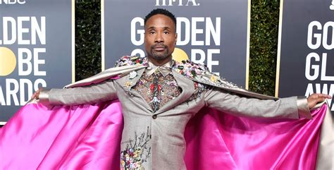 Pose Billy Porter Makes Fierce Fashion Statement