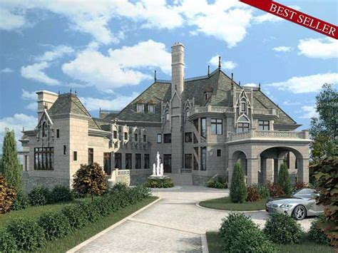 Build a Castle with Luxury Home Plan 72130 - Family Home
