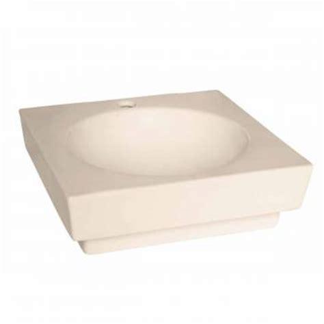 bone colored bathroom sinks bathroom vessel sink square bone china faucet overflow hole