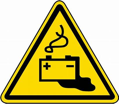 Clipart Warning Battery Charging Label Danger Caution