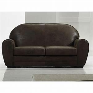 fauteuil club en cuir With tapis de couloir avec canapé convertible fabrication italienne