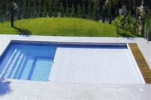 volet roulant piscine motorise immerge piscine discount With prix volet roulant immerge pour piscine