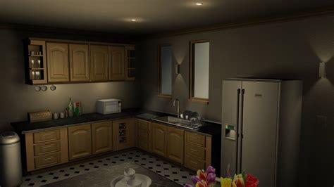 3ds Max Kitchen Render 01 By Hercool On Deviantart