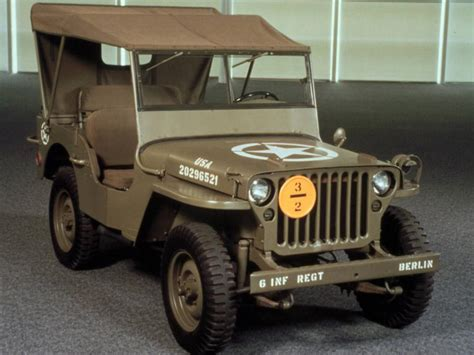 first jeep ever made jeep history