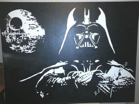 vador et l 201 toile peinture sur toile noir blanc toiles peintes